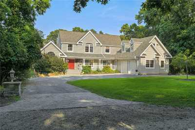 East Moriches Single Family Home For Sale: 68 Woodlawn Ave