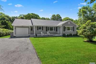 Remsenburg Single Family Home For Sale: 4 Nidzyn Ave