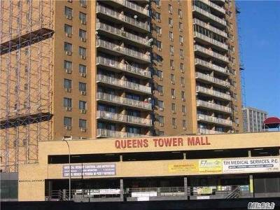 Rego Park Condo/Townhouse For Sale: 92-29 Queens Blvd #P76,  77
