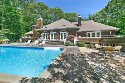 Amagansett Single Family Home For Sale: 16 Woodedge Cir
