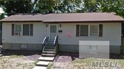 Ronkonkoma Single Family Home For Sale: 40 1st Ct