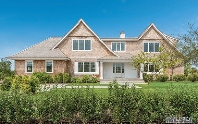 Southampton NY Single Family Home For Sale: $3,200,000