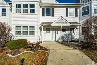 Middle Island Condo/Townhouse For Sale: 8 Country View Ln