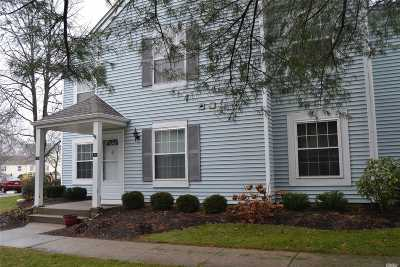 Middle Island Condo/Townhouse For Sale: 140 Fairview Cir