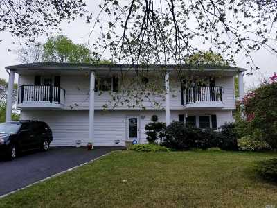 Patchogue Single Family Home For Sale: 6 Bambie Ln