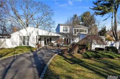 Smithtown Single Family Home For Sale: 3 Hillcrest Dr