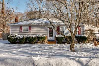 Middle Island Single Family Home For Sale: 33 Pine Cone St