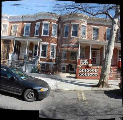Brooklyn Multi Family Home For Sale: 661 Hendrix St