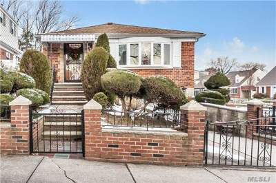 Bayside, Oakland Gardens Single Family Home For Sale: 201-27 24 Rd