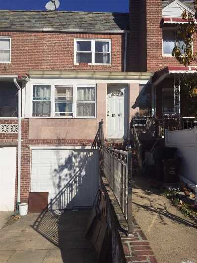 Queens County Single Family Home For Sale: 61-41 85th St