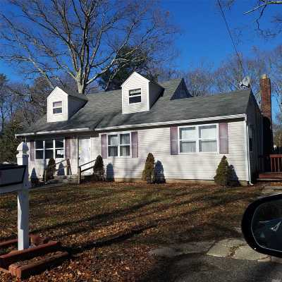 Middle Island Single Family Home For Sale: 7 Pine Rd