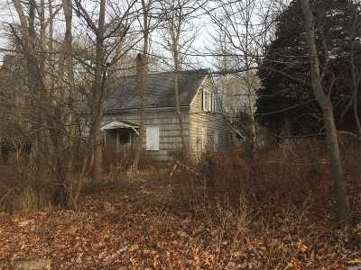 Moriches Single Family Home For Sale: 1431 Montauk Hwy