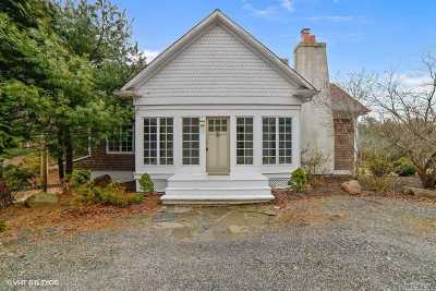 Water Mill Single Family Home For Sale: 1129 Old Sag Harbor Rd