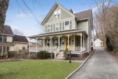 Port Jefferson Single Family Home For Sale: 403 Myrtle Ave