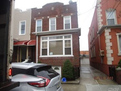 Middle Village Multi Family Home For Sale: 78-18 68th Rd
