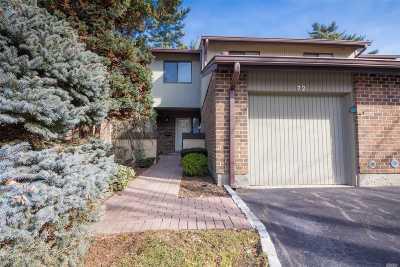 Jericho Condo/Townhouse For Sale: 72 Estate Dr