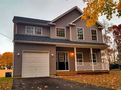 Middle Island Single Family Home For Sale: 73 Swezey Ln