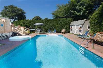 Hampton Bays Single Family Home For Sale: 18 Alanson Ln