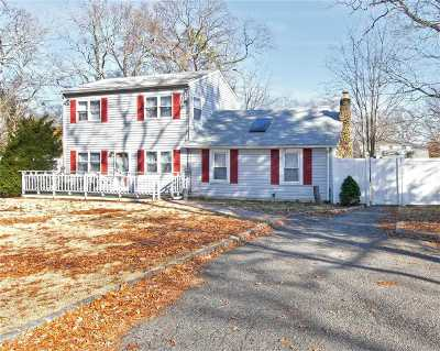 Centereach Single Family Home For Sale: 37 Lake Grove Blvd