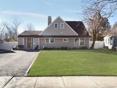 Hicksville Single Family Home For Sale: 38 Ash Ln