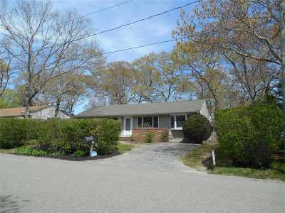 Hampton Bays Single Family Home For Sale: 4 Trail Rd