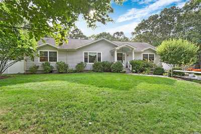 Southampton Single Family Home For Sale: 184 W Neck Rd