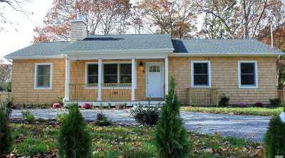 Hampton Bays Single Family Home For Sale: 34 Springville Rd