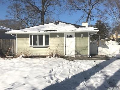 Selden Single Family Home For Sale: 53 Elmwood Ave