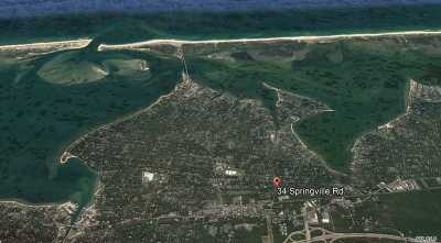 Hampton Bays Residential Lots & Land For Sale: 34 Springvlle Rd