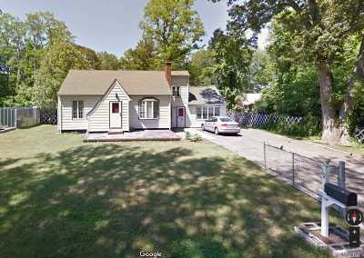 Centereach Single Family Home For Sale: 19 Fulton St