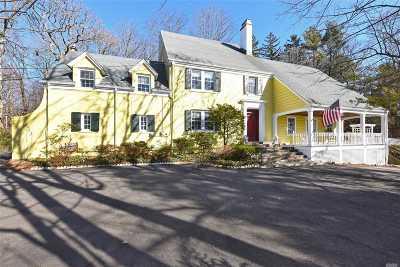 Glen Head Single Family Home For Sale: 195 Cedar Swamp Rd