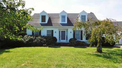 Jamesport Single Family Home For Sale: 677 Herricks Ln