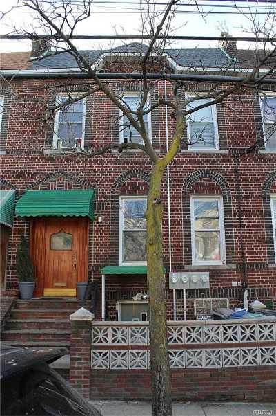 Ridgewood Multi Family Home For Sale: 53-48 Metropolitan Ave