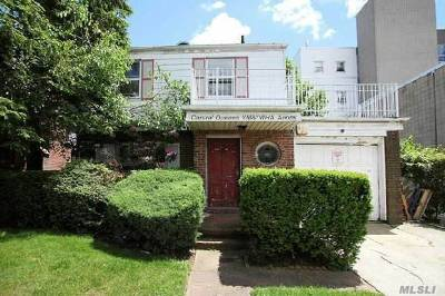 Forest Hills Single Family Home For Sale: 108-14 67 Ave