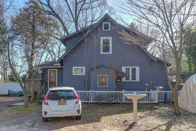 Nesconset Single Family Home For Sale: 496 Gibbs Pond Rd