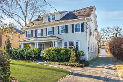 Woodmere Single Family Home For Sale: 115 Wyckoff Pl