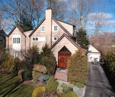 Great Neck Single Family Home For Sale: 7 Woodlawn Ave