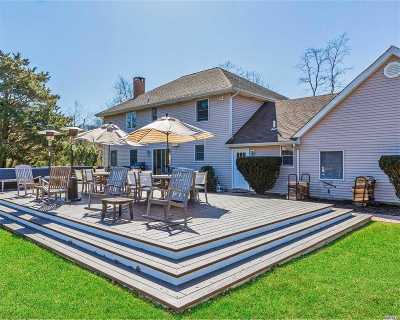 East Moriches Single Family Home For Sale: 9 Inlet View Path