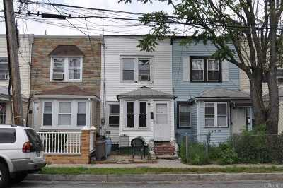 Jamaica Single Family Home For Sale: 153-27 118th Ave