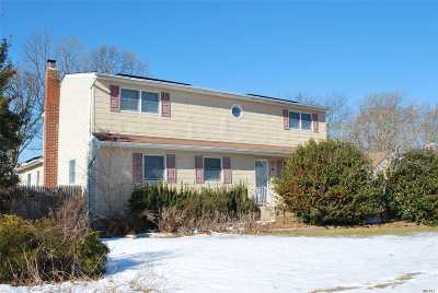 Centereach Single Family Home For Sale: 34 Tree Rd