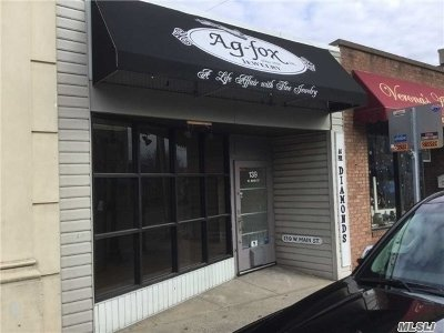 Bay Shore Commercial For Sale: 135 W Main St