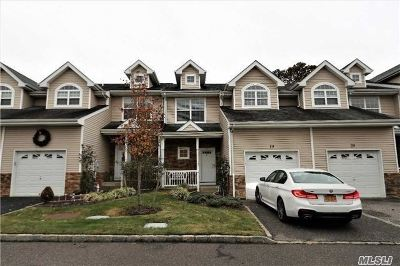 Patchogue Condo/Townhouse For Sale: 19 Terrace Ln