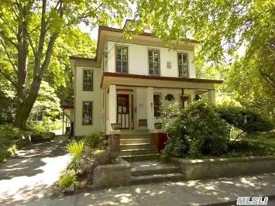 Port Jefferson Single Family Home For Sale: 309 High St