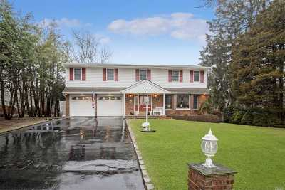 Hauppauge Single Family Home For Sale: 75 Holiday Park Dr