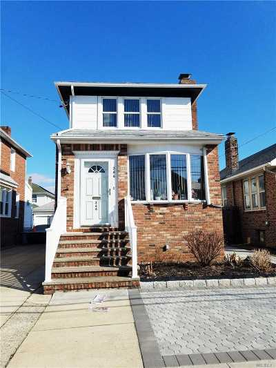 Single Family Home Sold: 266 Beach 140th St