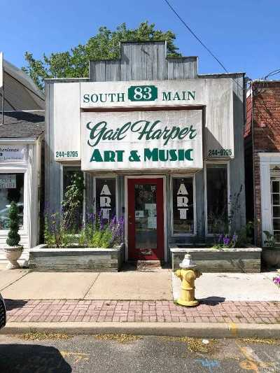 Sayville Commercial For Sale: 83 Middle Rd