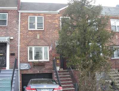 Flushing Single Family Home For Sale: 162-20 59th Ave