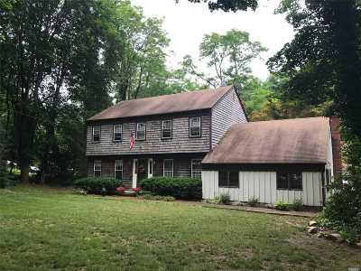 Setauket Single Family Home For Sale: 8 Van Brunt Manor Rd