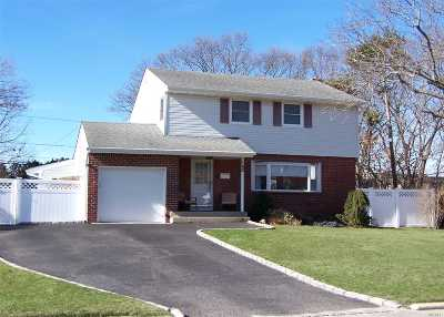 Centereach Single Family Home For Sale: 162 Tree Rd
