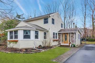 Miller Place Single Family Home For Sale: 62 Cedar Dr